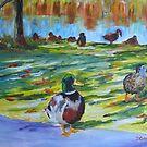 Guard Duck  by Daniel Grant