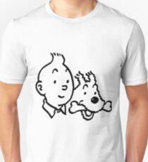 Tintin & Milou Unisex T-Shirt