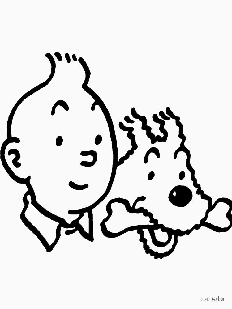 TShirtGifter presents: Tintin & Milou   Unisex T-Shirt