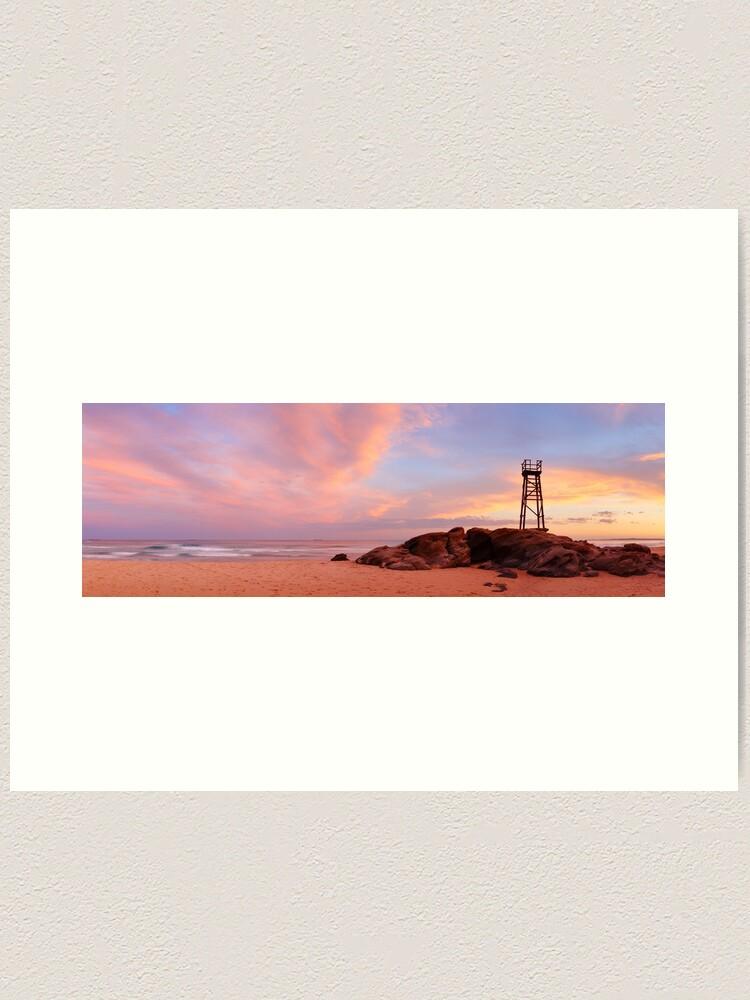 Alternate view of Day's End, Redhead Beach, Newcastle, New South Wales, Australia Art Print