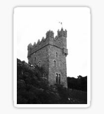 One of the towers of Glenveagh Castle, Donegal, Ireland Sticker