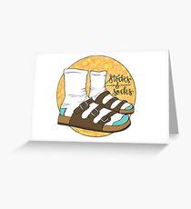 Tarjeta de felicitación Calcetines y calcetines