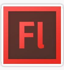 adobe flash Sticker