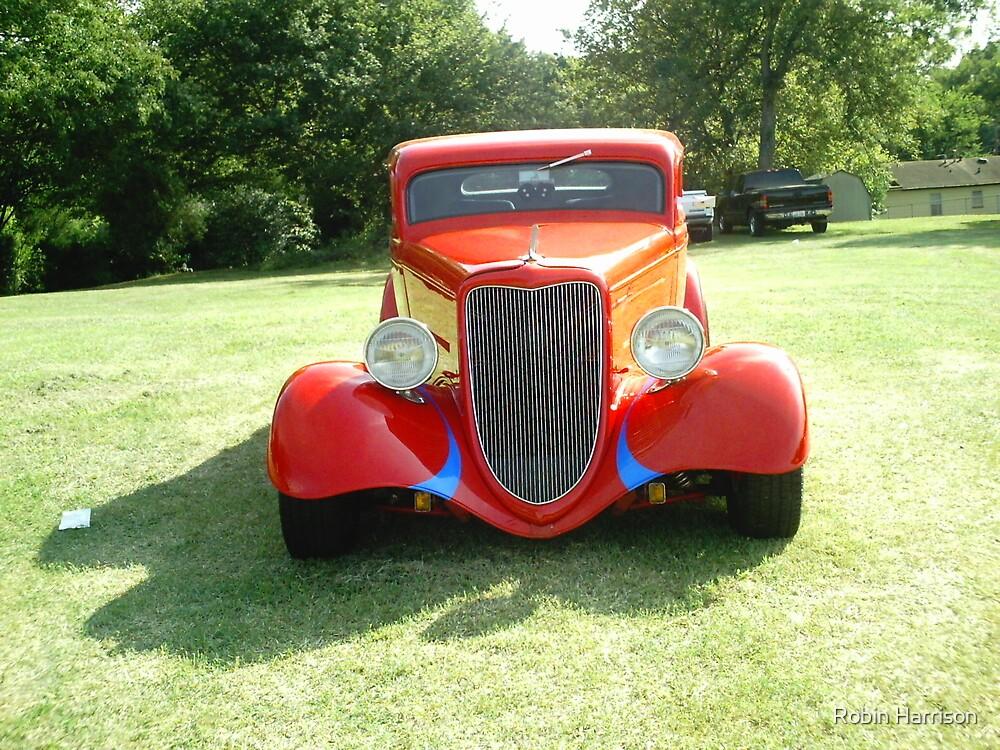 Antique car by Robin Harrison