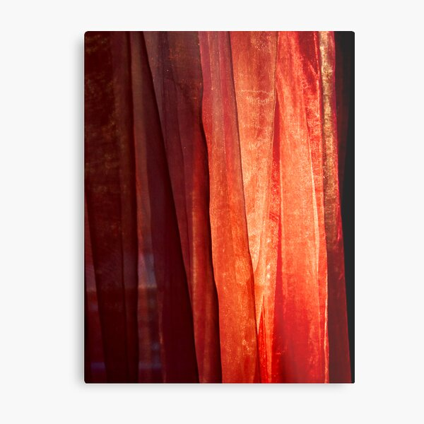 Curtain of Fire Metal Print