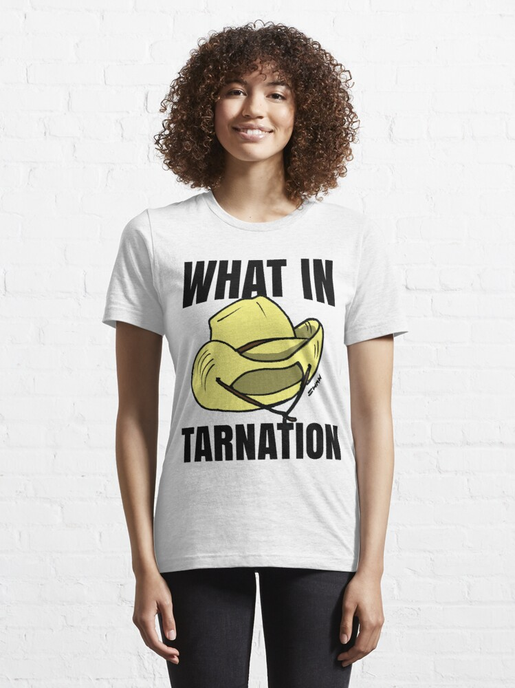 Alternate view of What in Tarnation Meme Cowboy Hat Essential T-Shirt