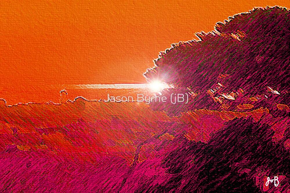 SUN SET ON THE WESTERN SKY by Jason Byrne (jB)