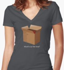 What's in the box? Women's Fitted V-Neck T-Shirt