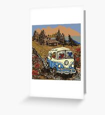 Grateful Dead -  Bear Vacation Greeting Card