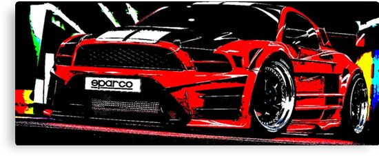 Ford Mustang Shelby Gt Art