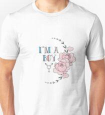 I'm A Boy. Unisex T-Shirt