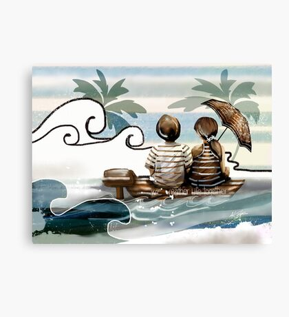 We Weather Life Together  Canvas Print