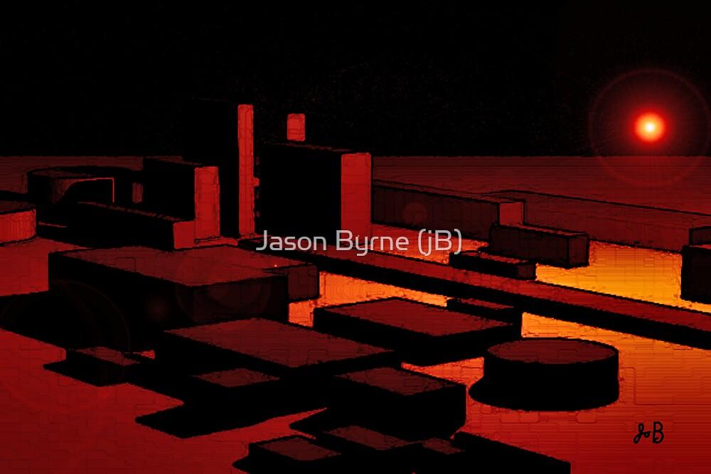 LIGHT AND SHAPES by Jason Byrne (jB)