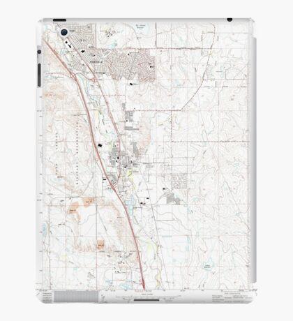 USGS TOPO Map Colorado CO Fountain 233028 1961 24000 iPad Case/Skin