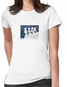 Space Camp Womens Fitted T-Shirt
