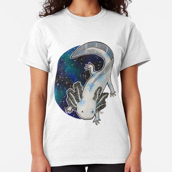 Galaxy Axolotl Artwork Classic T-Shirt