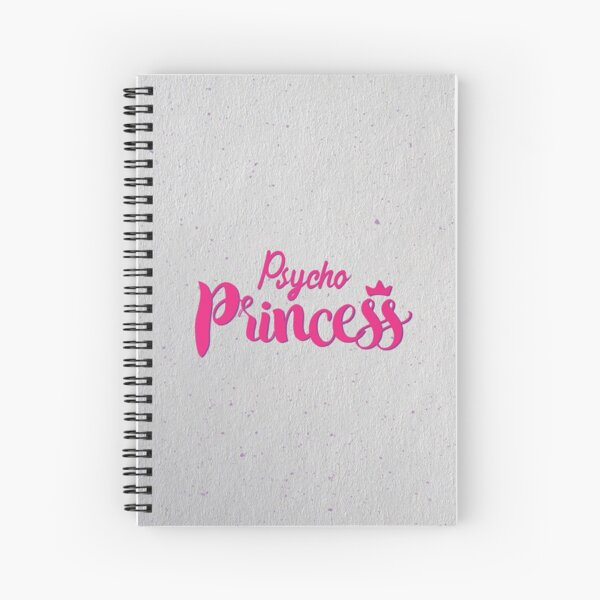 Psycho Princess Spiral Notebook