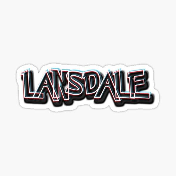 LANSDALE, PA Sticker