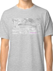 Rainbow Trout Fish Camo Ladies Classic T-Shirt