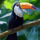 Digital Toucan by Jose Ochoa
