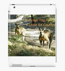 Banner -A Little Bit Country iPad Case/Skin