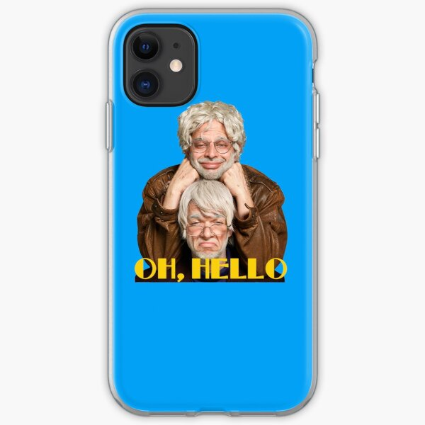 OH, HELLO  iPhone Soft Case