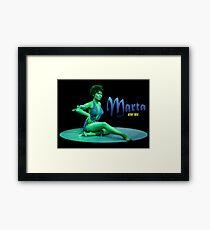 Marta Framed Print
