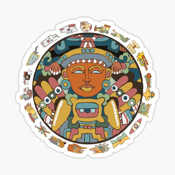 Aztec Time Sticker