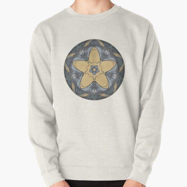 Art Deco Mandala Pullover Sweatshirt