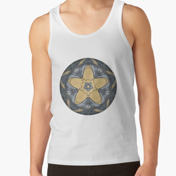 Art Deco Mandala Tank Top