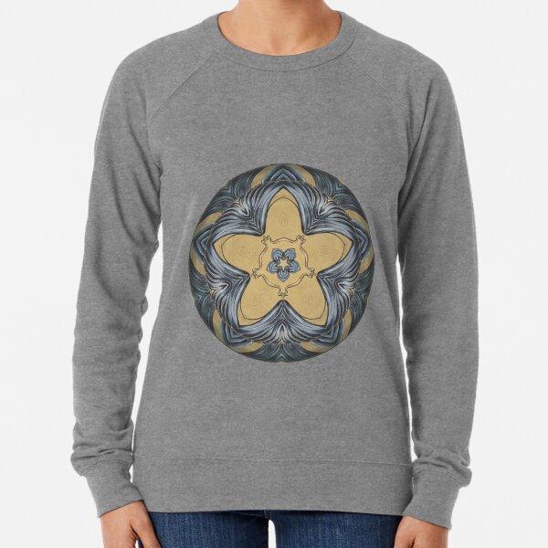 Art Deco Mandala Lightweight Sweatshirt