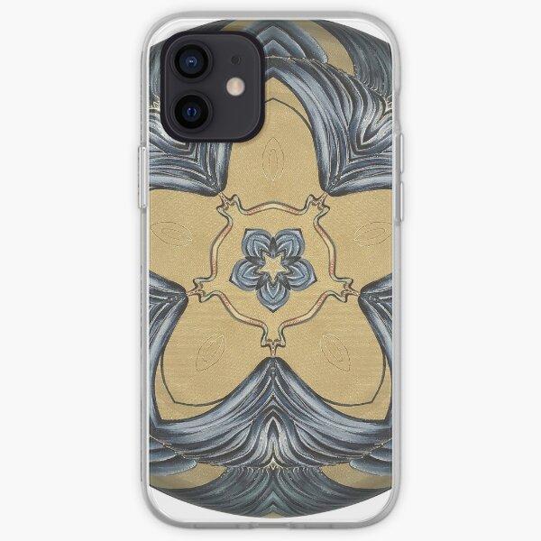 Art Deco Mandala iPhone Soft Case