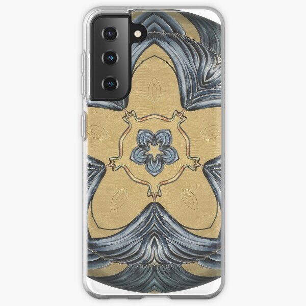 Art Deco Mandala Samsung Galaxy Soft Case