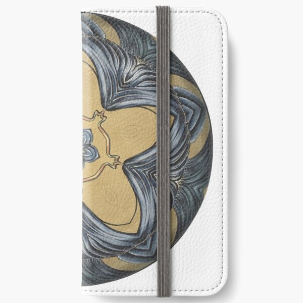 Art Deco Mandala iPhone Wallet