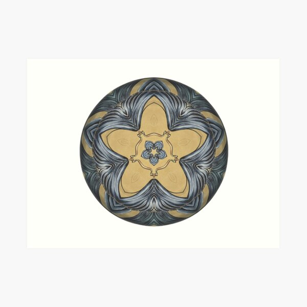 Art Deco Mandala Art Print