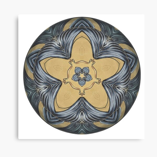 Art Deco Mandala Canvas Print