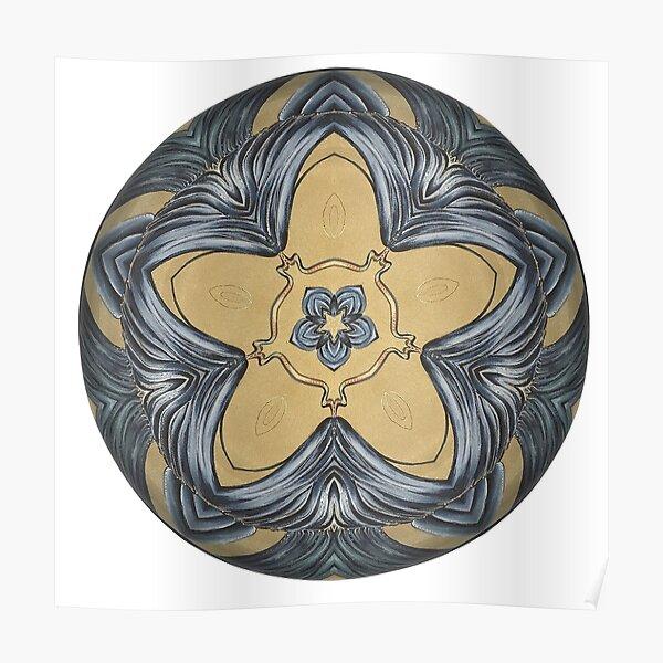 Art Deco Mandala Poster