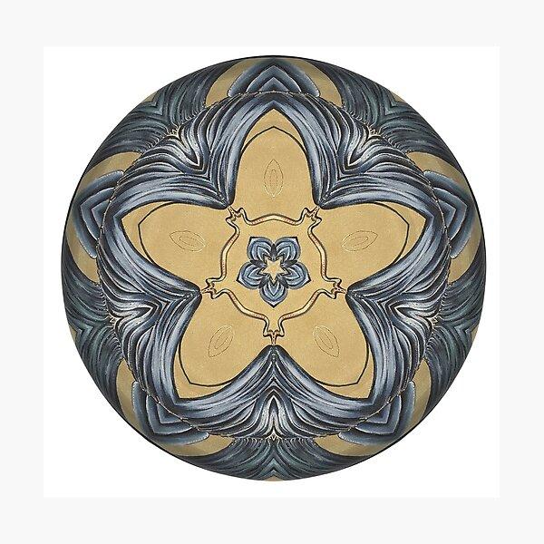 Art Deco Mandala Photographic Print