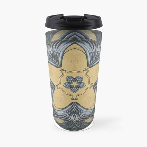 Art Deco Mandala Travel Mug