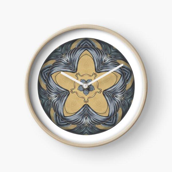 Art Deco Mandala Clock
