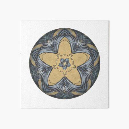 Art Deco Mandala Art Board Print