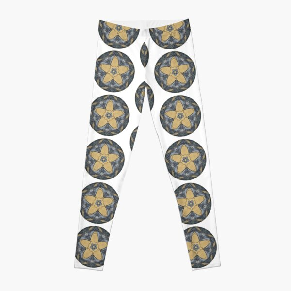 Art Deco Mandala Leggings