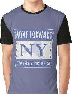 Move Forward New York Logo Tee Graphic T-Shirt