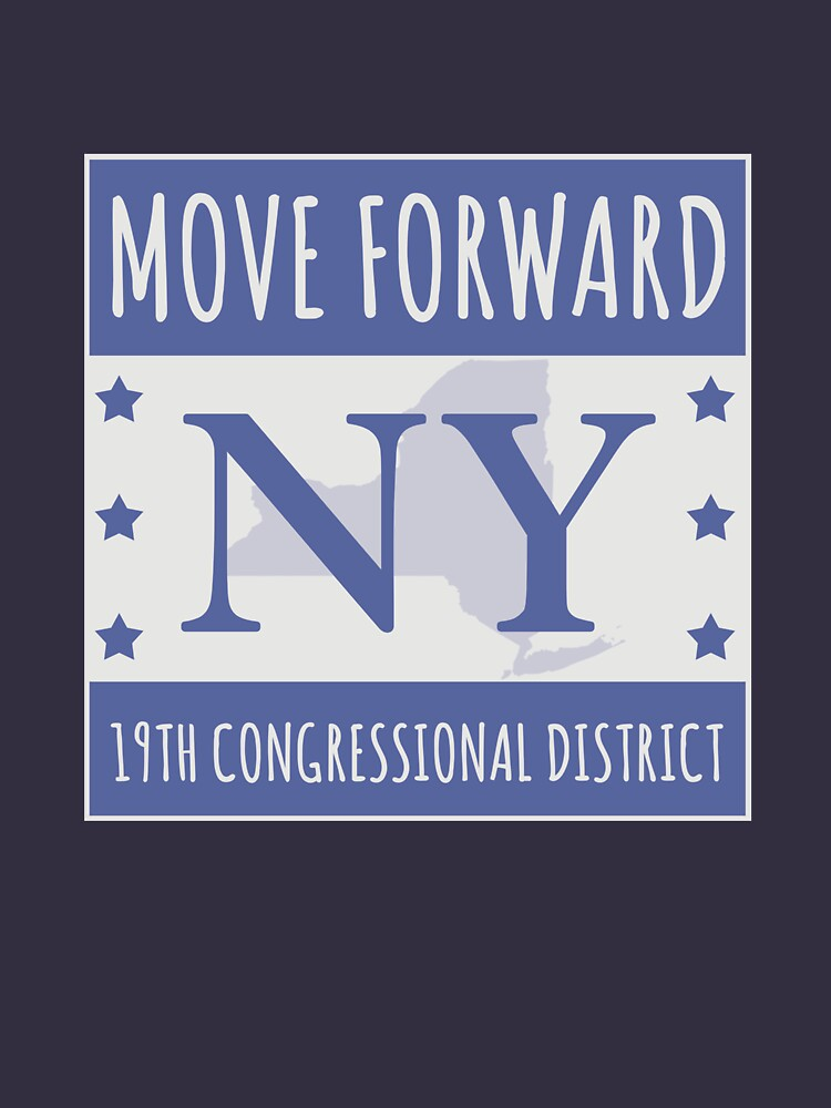 Move Forward New York Logo Tee by MoveForwardNY