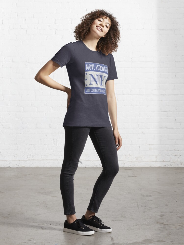 Alternate view of Move Forward New York Logo Tee Essential T-Shirt
