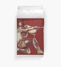 Warrior Duvet Cover