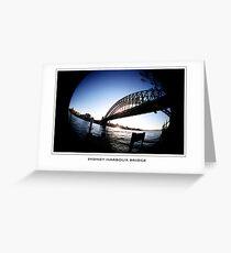 sydney harbour Greeting Card