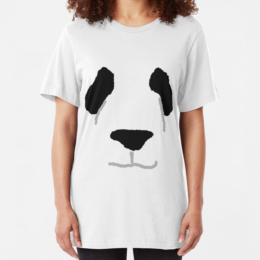 Panda Slim Fit T-Shirt