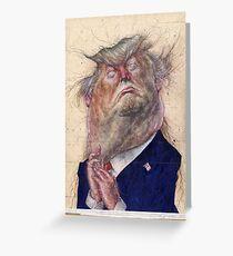 Donald Trump - L.A.-Times Greeting Card