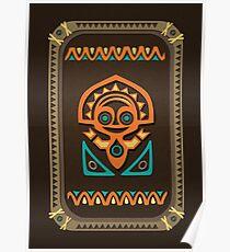 Disney's Polynesian Village Tiki Poster